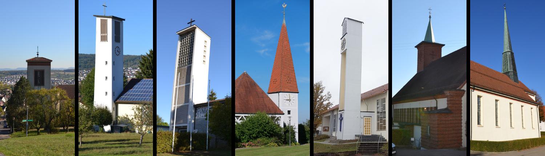 Übersicht aller Kirchen